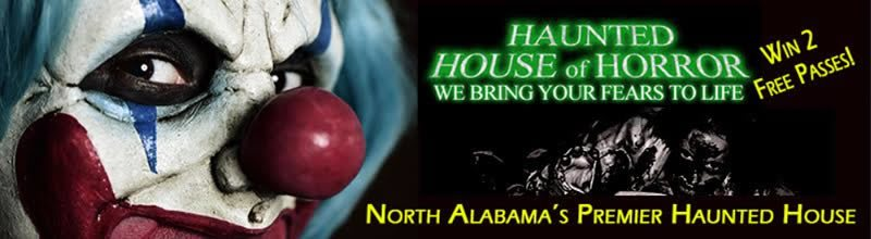 Haunted House of Horror - Alabama Haunted Houses on haunted house mobile al, christmas mobile al, top 20 biggest house in al, theodore high school mobile al, boykin mobile al,