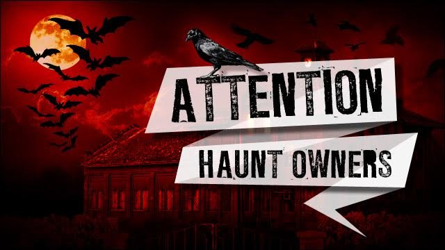 Attention Alabama Haunt Owners